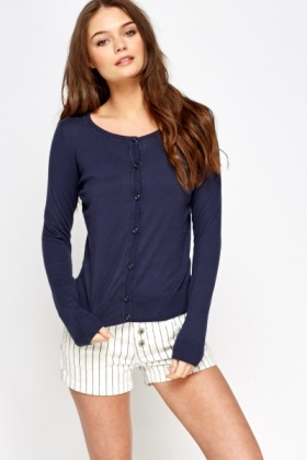 Cotton Casual Cardigan