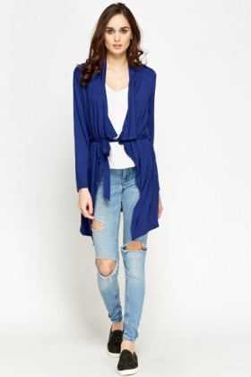 Middle Blue Waterfall Cardigan - Just £5