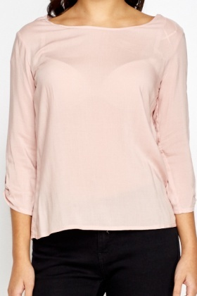 Dusty Pink Blouse