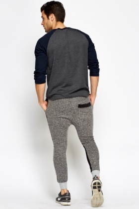 Textured Back Joggers