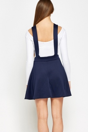 Open Back Pinafore Dress