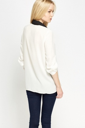 Mono Shirt Insert Top