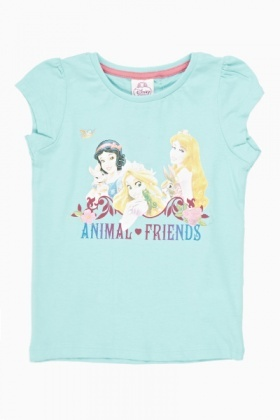 Animal Friends Princess T-Shirt