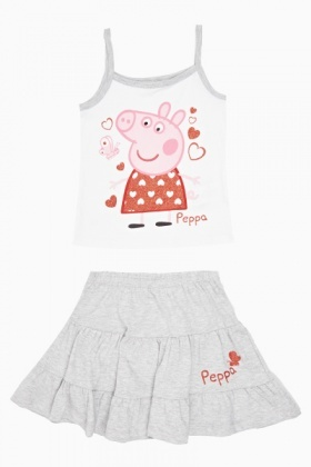 Peppa Pig Vest And Skirt Set