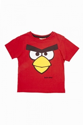 Red Angry Birds T-Shirt