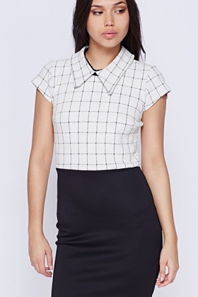 Collared Mono Dress