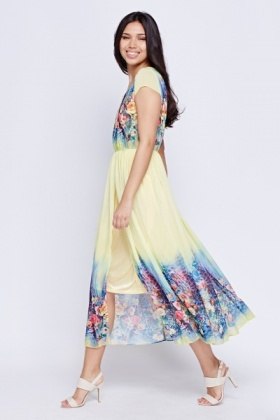 Floral printed Summer Maxi Dress