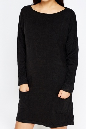 Pocket Side Jumper Dress