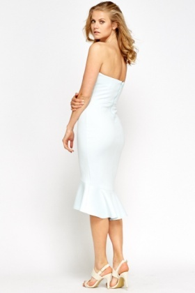 Bandeau Fish Tail Dress