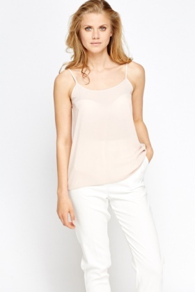 Light Peach Camisole