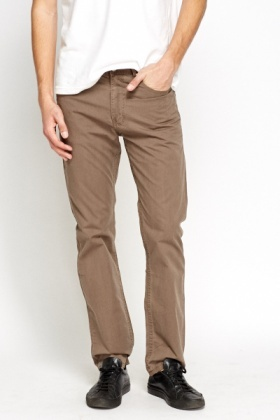 Cotton Lightweight Chino Trousers