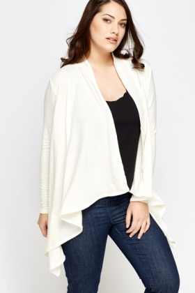 Waterfall Asymmetric Cardigan
