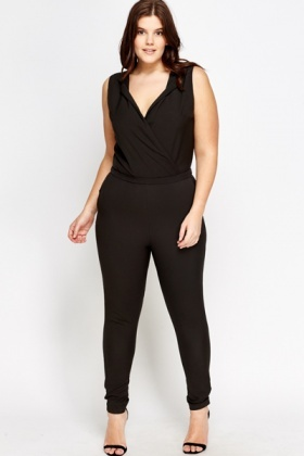 Wrapped Front Jumpsuit