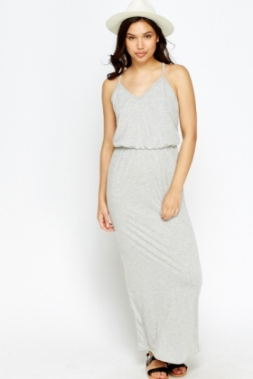 Cut Out Back Maxi Dress