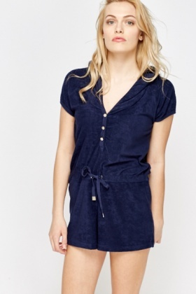 Boyfriend Hooded Playsuit