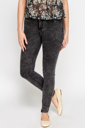 Skinny Wash Out Jeans