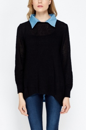 Shirt Insert Loose Jumper