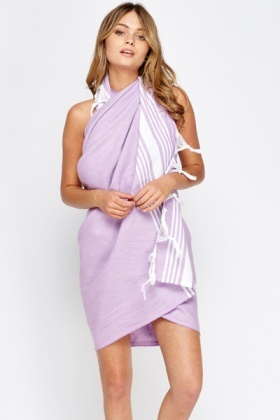 Two Tone Hammam Towel