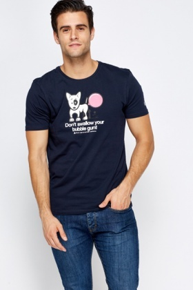 Printed Dog T-Shirt