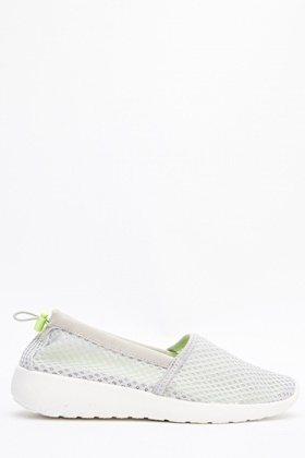 Mesh Slip On Trainers