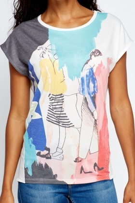 Fashion Print T-Shirt