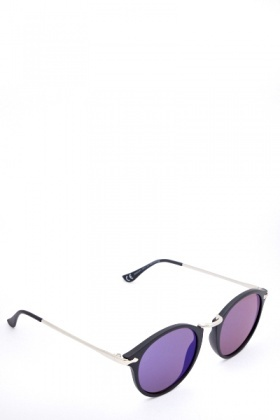 Mirrored Oval Sunglasses