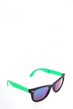 d025a3c952 Two Tone Mirrored Wayfarer Sunglasses - Just £5