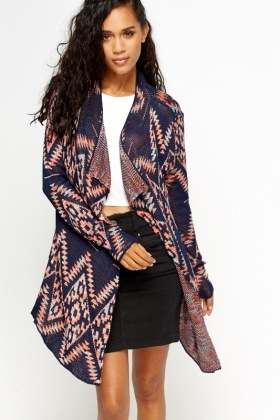 Aztec Waterfall Cardigan - Just £5