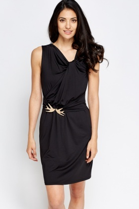 Swallow Belt Detail Dress