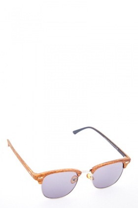 Wooden Eyebrow Sunglasses