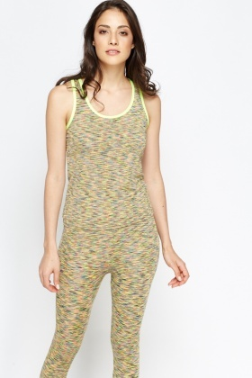 Speckled Sports Vest
