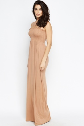 Basic Bandeau Maxi Dress