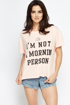 Im Not A Morning Person T-Shirt