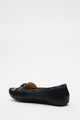 Multi Print Front Loafers