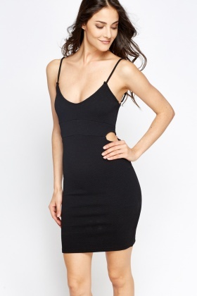 Cut Out Side Mini Dress