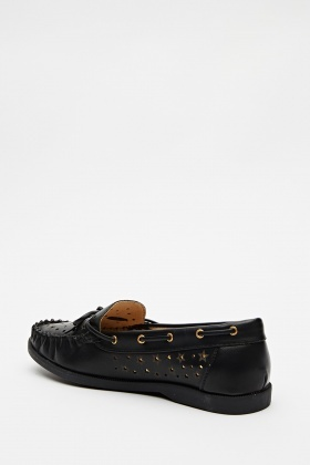 Cut Out Top Loafers
