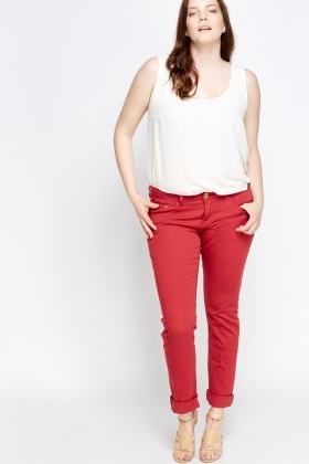 Slim Fit Basic Jeans