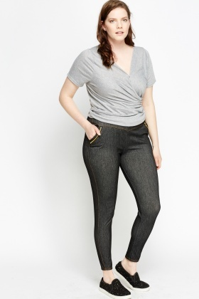 Zipped Pocket Leggings