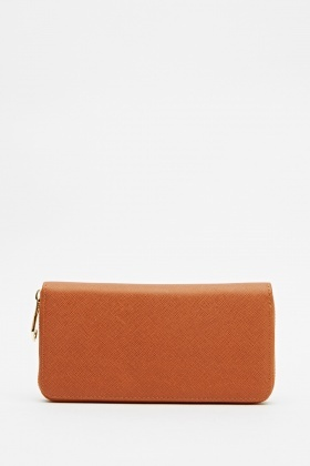 Basic Faux Leather Purse