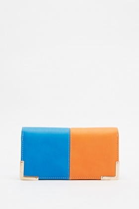 Colour Block Purse
