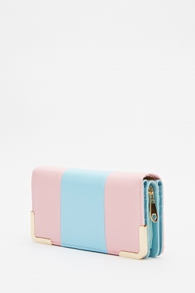Two Tone Block Purse