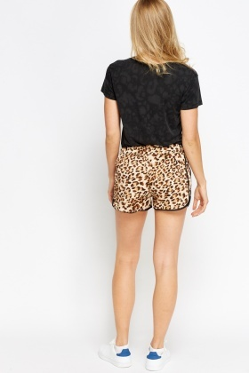 Animal Printed HotPants
