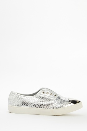 Flatform Mock Croc Canvas