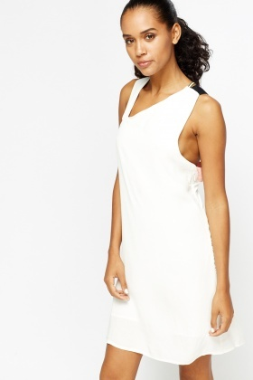Multi Bandage Cross Back Dress