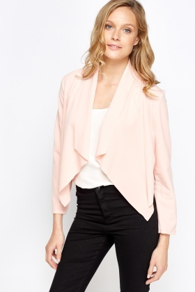 Waterfall Cropped Cardigan