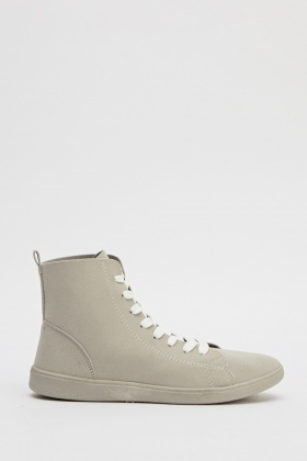 Casual High Top Trainers