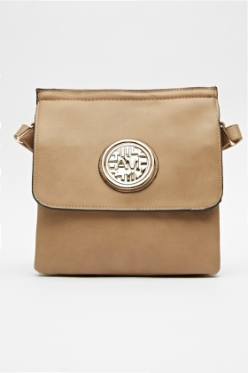 Detailed Front Small Crossbody Bag