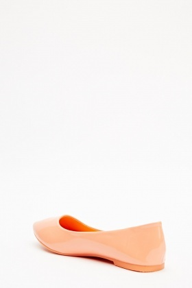 PU Pointed Ballet Flats