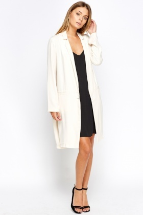 Long Line Mac Coat