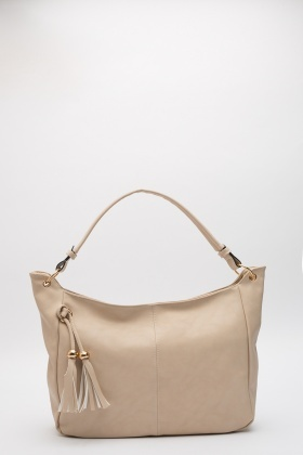 Hassled Front Embellished Bag